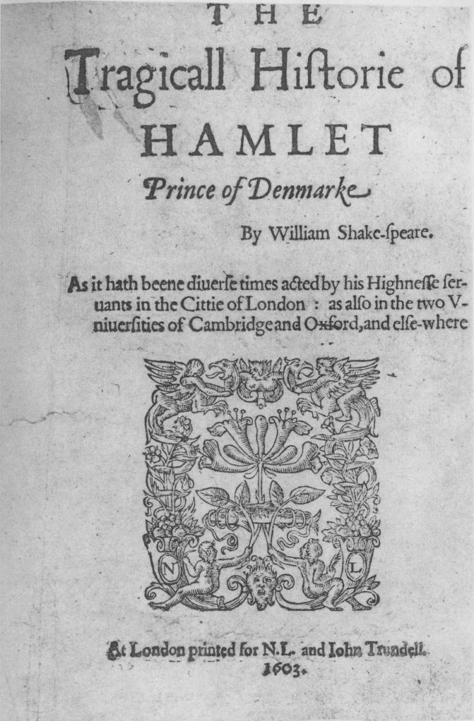 Hamlet_Q1_Frontispiece_1603